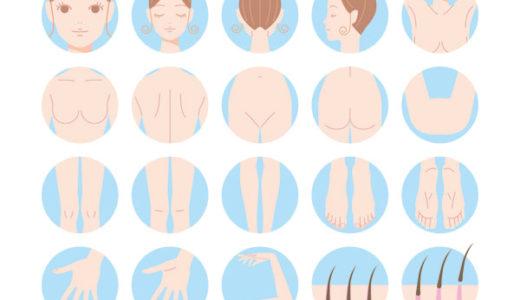 脱毛の部位・パーツが選べる!オーダーメイドの全身脱毛・医療脱毛が人気!